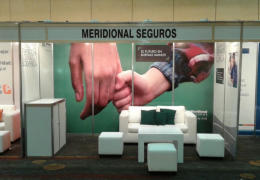 Decoración de stands Congreso de seguros